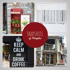 Snapshots of Hongdae - Hongdae in Seoul has a lot of awesome little coffee shops and things to do and see. Here I'm just showing some of the things I've come across.