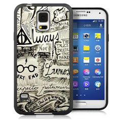 Harry Potter Doodle Soft Rubber Mobile Phone Cases For Samsung S3 S4 S5 S6 S7 edge plus Note 2 Note 3 Note 4 Note 5 Back Cover