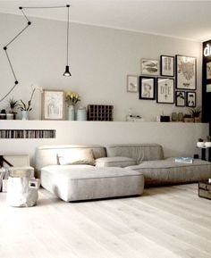 Minimalist Living Room Ideas - Locate your favored Minimal living-room pictures right here. Check out photos of motivating Minimalist living-room design ideas to develop your excellent house. Living Room Interior, Home Living Room, Home Interior Design, Living Room Designs, Interior Architecture, Living Room Decor, Living Spaces, Apartment Living, Modern Interior