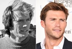 Pin for Later: 11 Celebrities Who Once Looked EXACTLY Like Their Children Clint Eastwood and Scott Eastwood