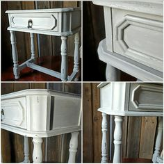 Paris Grey +Old White +White wax Annie Sloan ❤