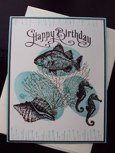 Stampin Up - Card using By the Tide