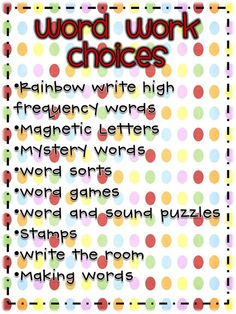 word work | Word+Work+Choices_Page_1.jpg