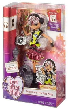 Ever After High Melody Piper Doll - Doll