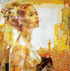 Collage art by Derek Gores