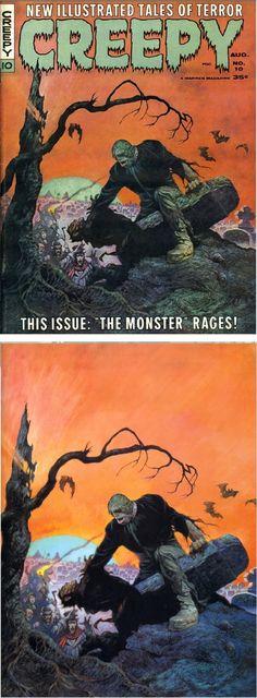 FRANK FRAZETTA - Creepy #10  Aug 1966 Warren Publishing