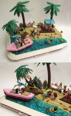 Friends Beach #LEGO #Friends #beach This looks like a gift for me and my girls!