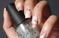 Water Decal Nail Designs For more image visit  http://www.naildesignspro.com/top-nail-art-designs-2014/