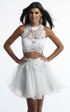 Find More Homecoming Dresses Information about 2015 Two Piece Short White Homecoming Dresses Appliques Detachable Sexy Sweet 16 8th Grad Prom Dresses Vestido de Festa curto,High Quality gown red,China gown shawl Suppliers, Cheap dress chocolate from Top Bridal on Aliexpress.com