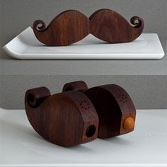 Mustache Salt & Pepper Shaker