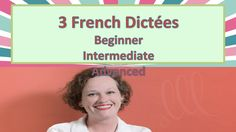 Jennifer, from http://www.lovelearninglanguages.com, teaches a lesson on French dictations at three levels of difficulty, beginner to advanced. BLOG POST► ht...