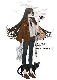 """白缇_ バイティ บนทวิตเตอร์: """"「复古」… """" Character Concept, Character Art, Concept Art, Art Costume, Cosplay, Character Design References, Manga Games, Anime Art Girl, Amazing Drawings"""