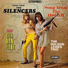 The Wilson Lewes Trio - Theme from The Silencers/Theme from Our Man Flint (1966)