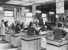 Een van de eerste Zelfbedienings winkel