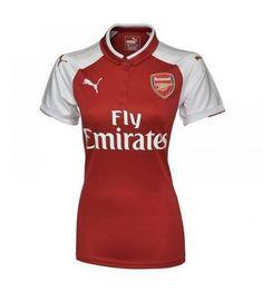 Arsenal Hemmatröja Dam 17-18 Kortärmad