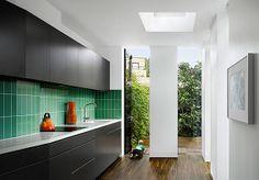 kitchen vertical tiles