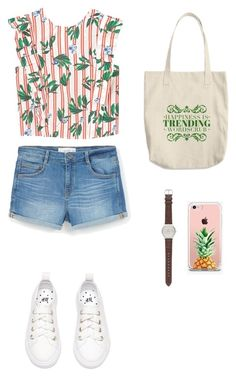 """""""Untitled #685"""" by vero199638 on Polyvore featuring MANGO, J.Crew and The Casery"""