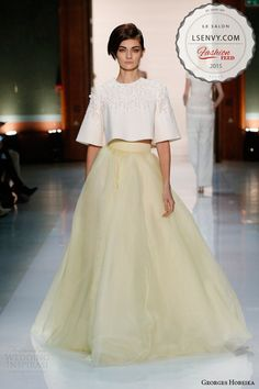 So chic with a 60s feel...love a bride who dares to be different! Love this pin?…