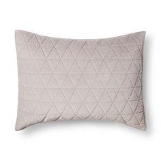 Vintage Wash Velvet Pillow Sham - Threshold™ : Target
