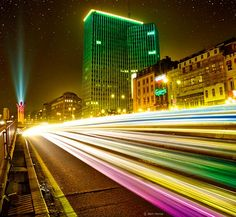 Brussels By Night 30 Breathtaking Examples of Long Exposure Photography | Bored Panda