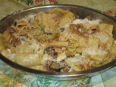 Raccontare un paese: dalla mia cucina toscana:paccheri vegetariani