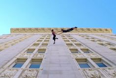 Waltz On The Walls: Dancers Perform Epic Vertical Dance On Oakland City Hall