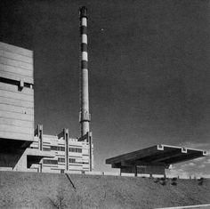 Municipal Garbage Incinerator, Geneva, Switzerland, 1966  (Geux & Kirchhoff)