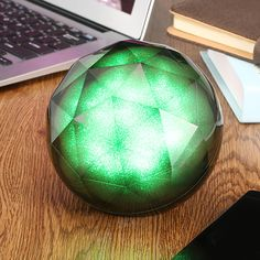 Crystal Ball Colorful light Portable Wireless Bluetooth Speaker With Remote Control