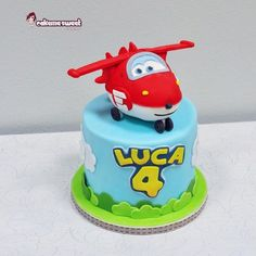 Super wings party set - Cake by Naike Lanza