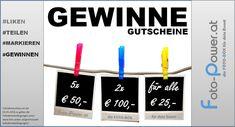 FOTOBOX: Gewinnspiel Fotobooth Gutscheine