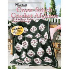Herrschners® 2010 Cross-Stitch Crochet Afghans (4 patterns) Crochet Book $9.99