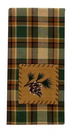 Scotch Pine Hand Towel