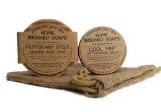 Beer Soap Shaving Set - Peppermint