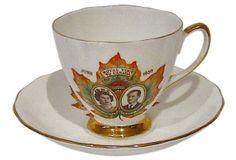 QEII Commemorative Cup & Saucer