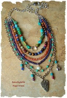 Gallery – modern hippie jewelry - DIY and Crafts Gemstone Jewelry, Beaded Jewelry, Fine Jewelry, Handmade Jewelry, Jewelry Necklaces, Beaded Necklace, Jewelry Making, Making Bracelets, Septum Jewelry