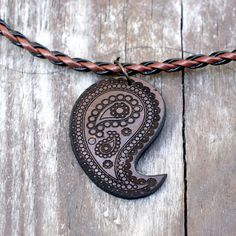Paisley Pendant Necklace from Soothi | Style With Substance