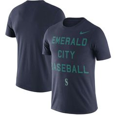Men's Seattle Mariners Nike Navy Local Phrase Performance T-Shirt