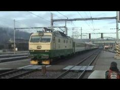 Elektrické lokomotivy řady 150/151 Czech Electric locomotive series 150 / 151 - YouTube Electric Locomotive, Train, Youtube, Zug, Strollers