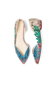 Stitch Fix Spring Shoes: Printed Pointed-Toe Flats
