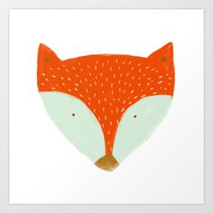 Buy mr fox by Sweet Reverie as a high quality Art Print. Worldwide shipping available at Society6.com. Just one of millions of products available.