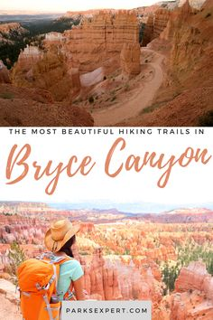 Bryce Canyon hikes have something for everyone. Test your endurance and enjoy an amazing view. These are the best hikes in Bryce Canyon National Park. Travel Articles, Travel Tips, Bryce Canyon Hikes, Sunset Point, Will You Go, Best Hikes, Outdoor Woman, Usa Travel, Great View
