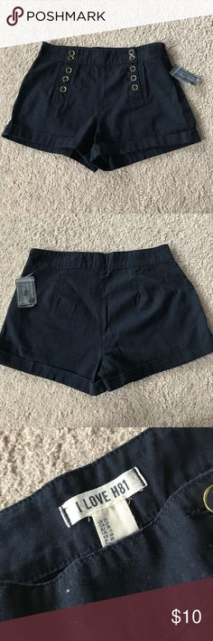 Forever 21 High Waisted Shorts Nautical New with tags! Smoke free home Forever 21 Shorts