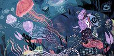 Ondine - Meg Hunt Illustration