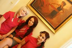 My three angels. Just enjoying their day working at Highfield Dental Clinic