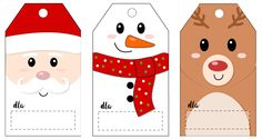 Dziewczynka z guzikiem - Blog rodzicielski i dziecięcy: Świąteczne etykiety na prezenty do wydrukowania
