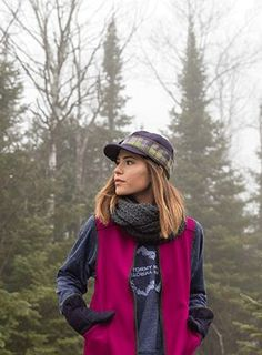 Stormy Kromer Outdoor fashion: Cap, vest, mittens, T-shirt AND scarf ALL made in USA