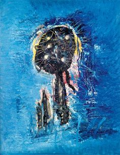 Great Works: The Blue Phantom 1951, Wols (73cm x 60 cm) - Great Works - Art - The Independent