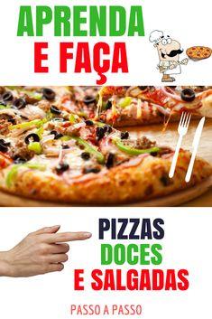SÓ PIZZAS ! RECEITAS DOCES E SALGADAS DE PIZZARIAS ! Agora você vai Fazer e surpreender !  Saiba todos OS segredos das pizzarias DE SUCESSO e seja um pizzaiolo ! Se você AMA PIZZA , Vale a pena conhecer ! #receita #pizza #pizzas #ingredientes #molho #recheio #massa