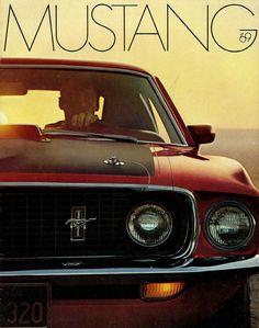 Sales literature, 1969 Mustang
