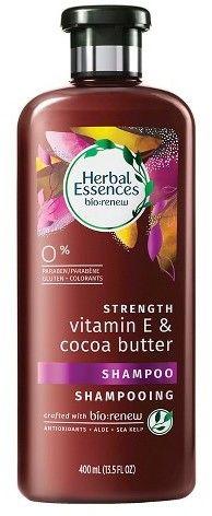 Herbal Essences Bio:Renew Strength Vitamin E & Cocoa Butter Shampoo - Herbal Essences, Cocoa Butter, Vitamin E, Herbalism, Shampoo, Strength, Products, Herbal Medicine, Gadget